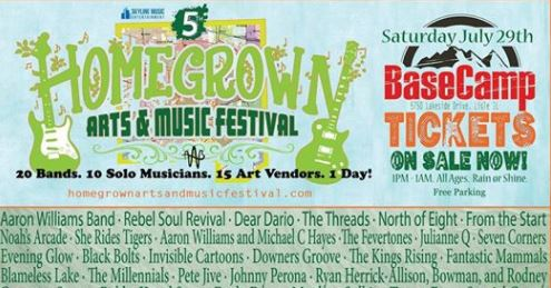 5th Annual Homegrown Arts and Music Festival 2017