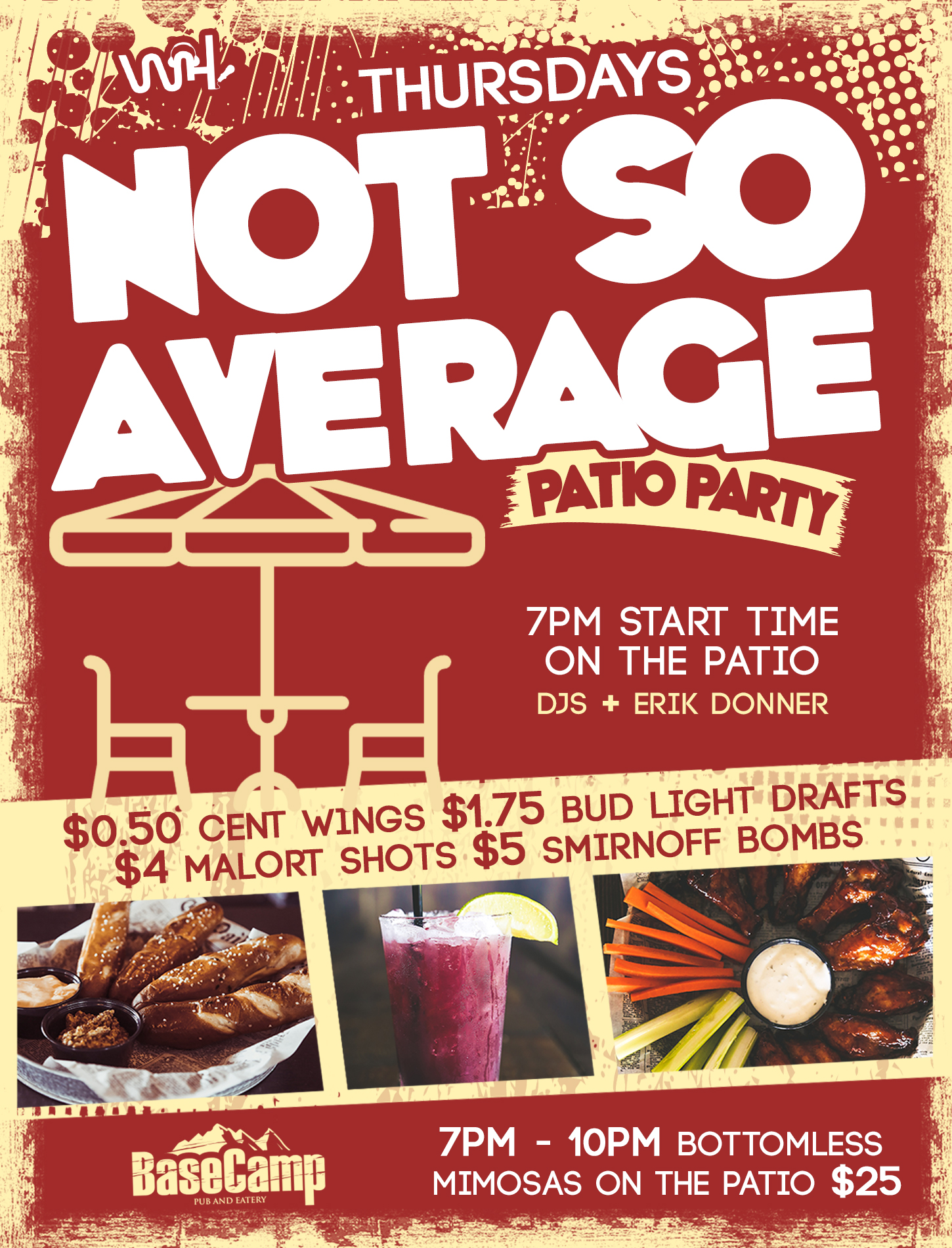 """Not So Average"" Patio Party"
