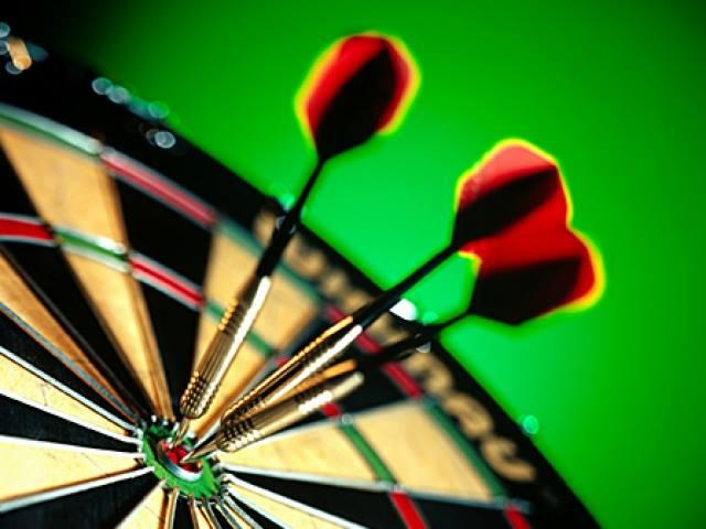 Trivia & Blind Draw Darts Tournament - Base Camp Pub