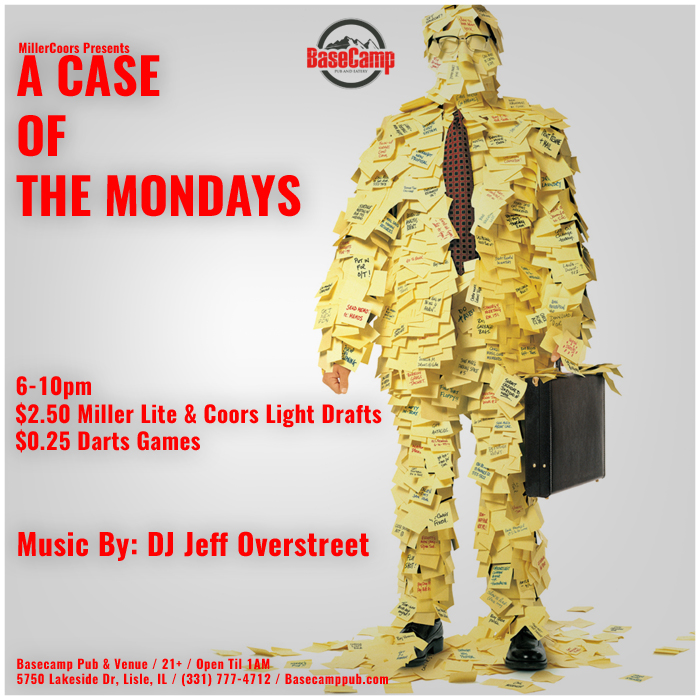 """A Case of the Mondays"" w/ DJ Jeff Overstreet"