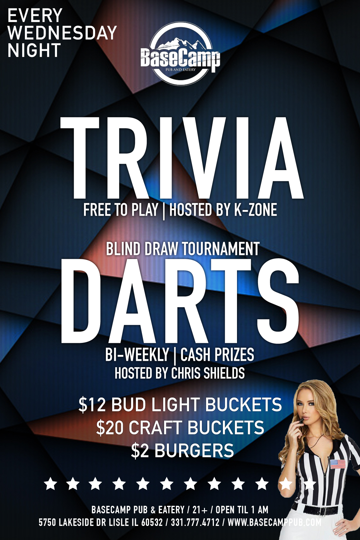 K-Zone Trivia & Blind Draw Dart Tournament