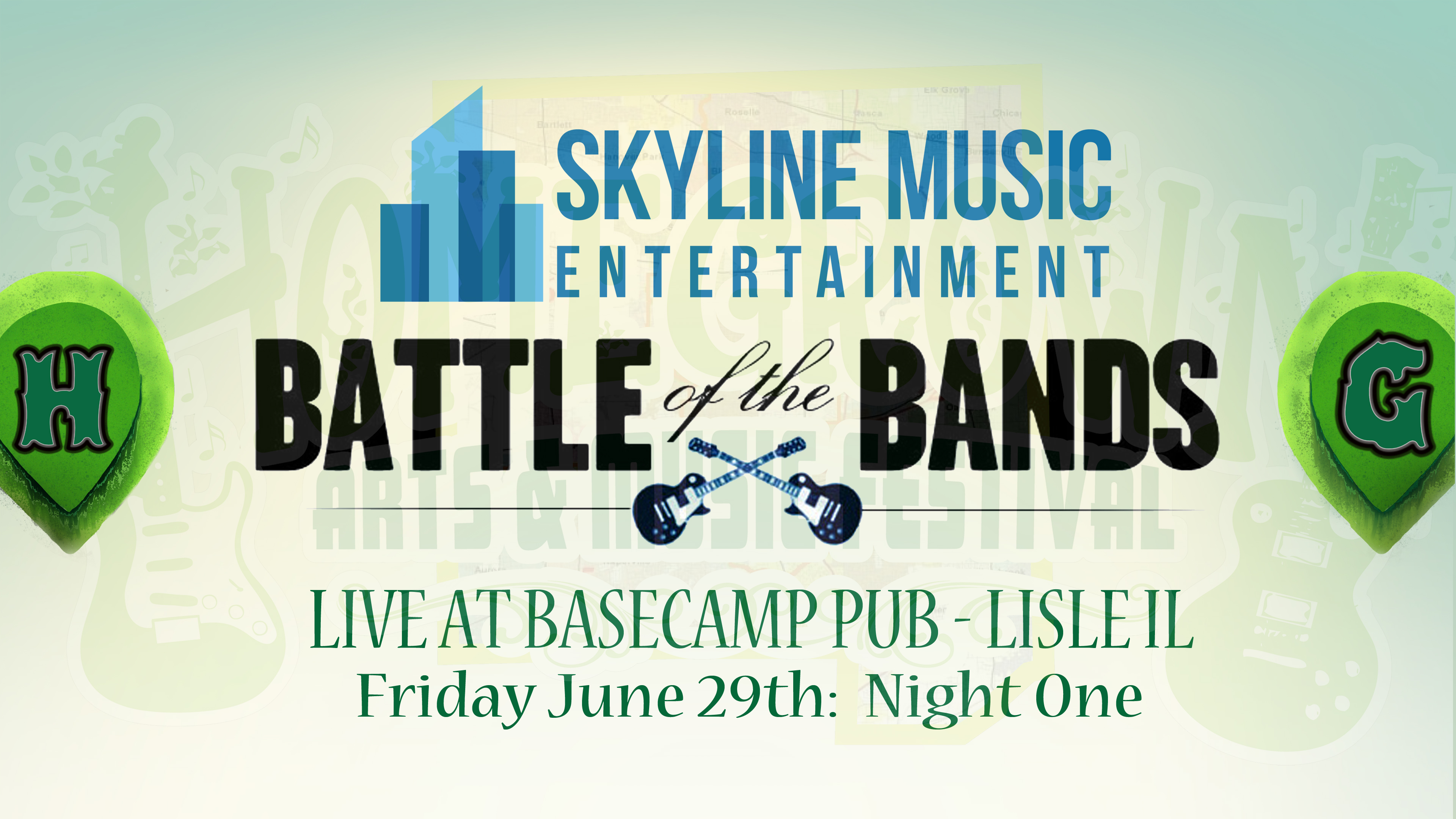 "Homegrown ""Battle of the Bands"": NIGHT ONE"
