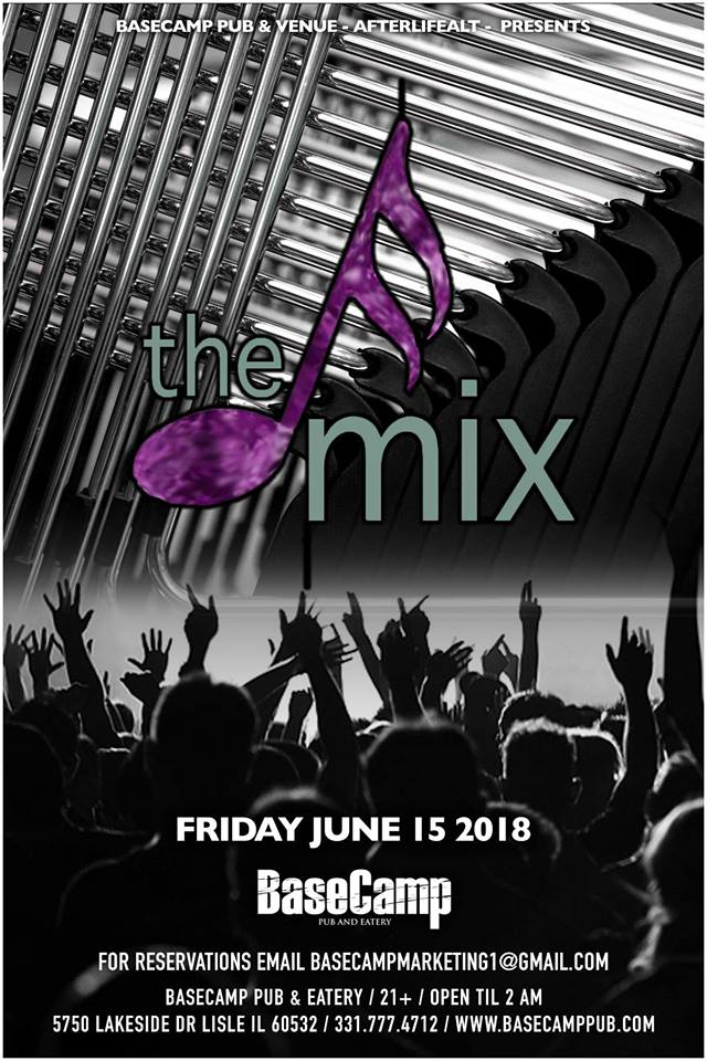 Free COVER PATIO PARTY W/ The MIX!