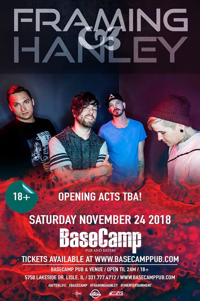 Framing Hanley Live at Basecamp!