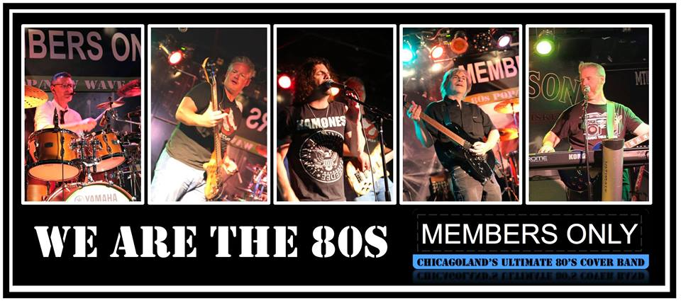 Members Only 80s Band at BaseCamp Pub in Lisle, IL