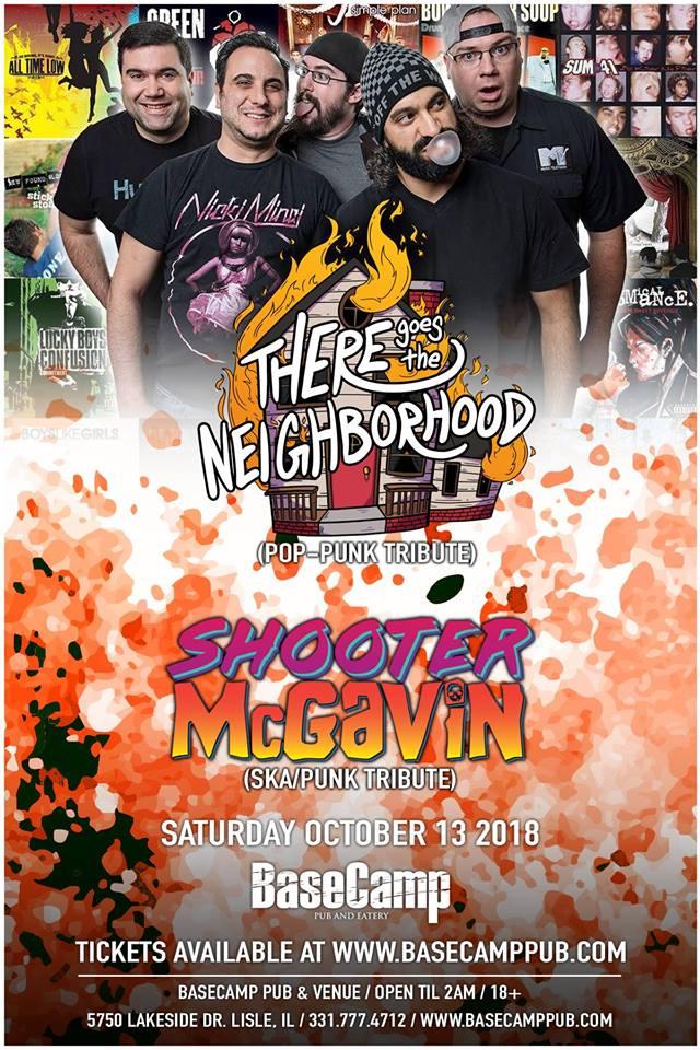 Pop-Punk & Ska Tribute Night with TGTN Shooter McGavin