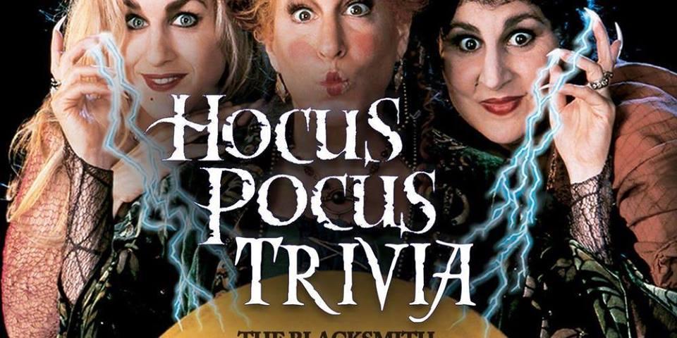 Hocus Pocus Themed Trivia and $100 Costume Contest