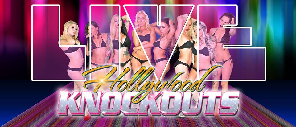 Hot Oil/ Cream Wrestling LIVE W/ The Hollywood Knockouts