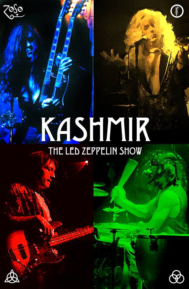 Kashmir- The Led Zeppelin Tribute Show Live at Basecamp!