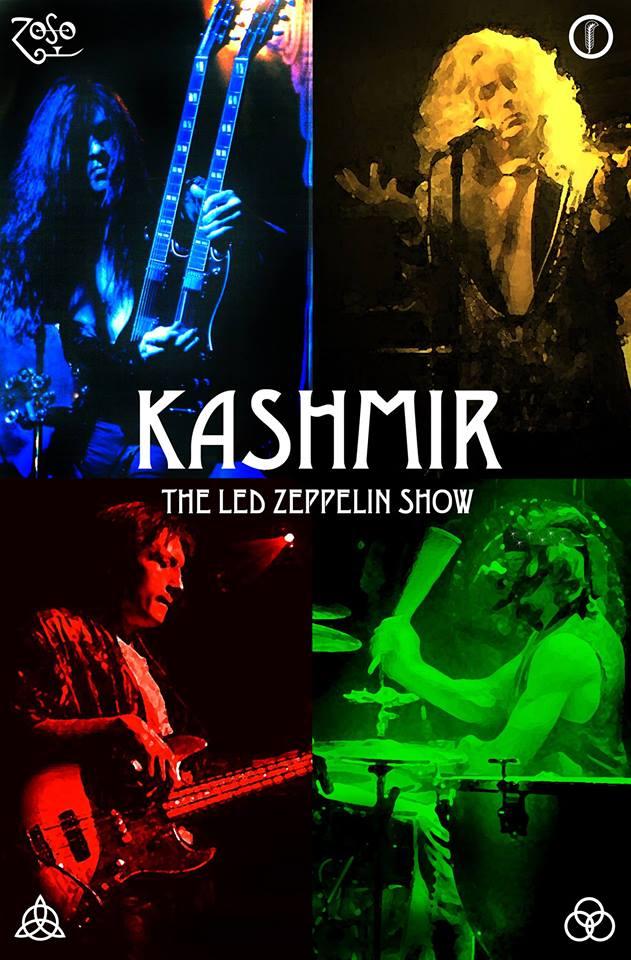 Kashmir- The Led Zeppelin Tribute Show Live at Basecamp!