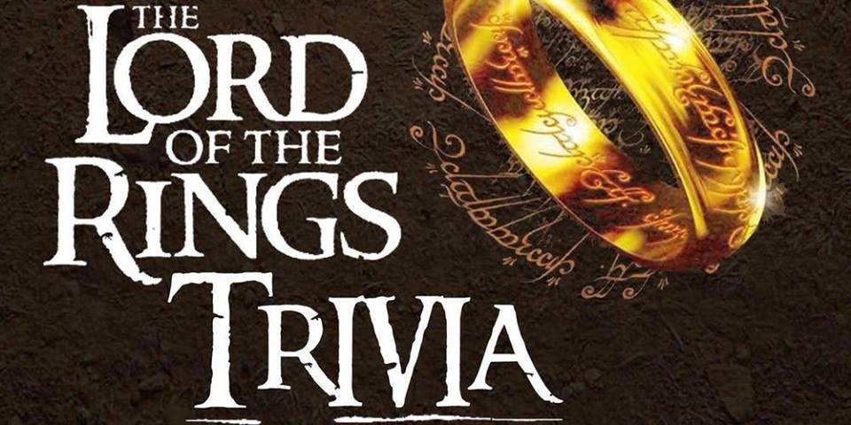 Lord of The Rings Themed Trivia