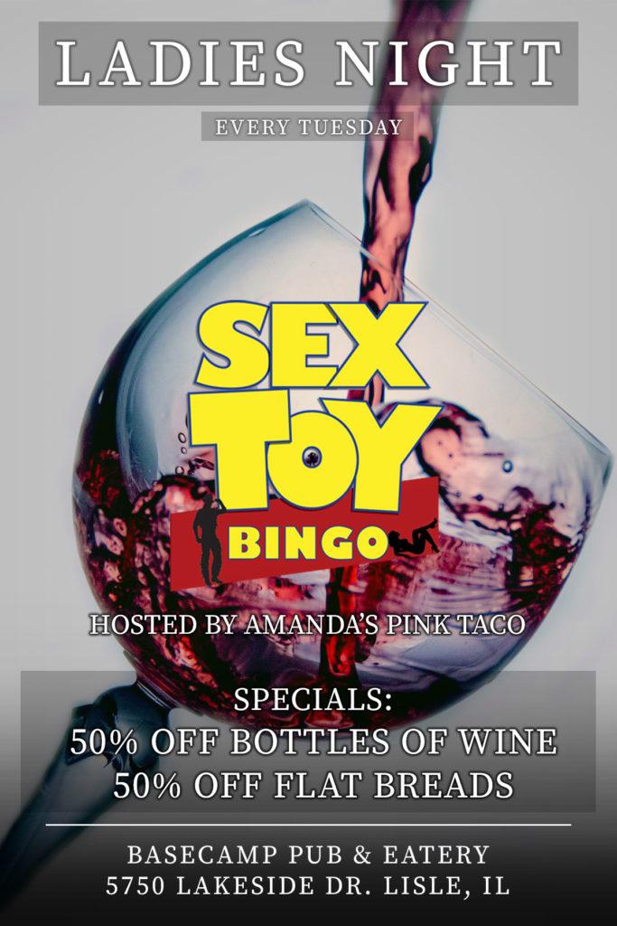 Ladies Night Sex Toy Bingo