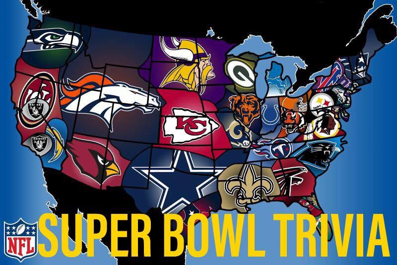 NFL SUPER BOWL HISTORY TRIVIA