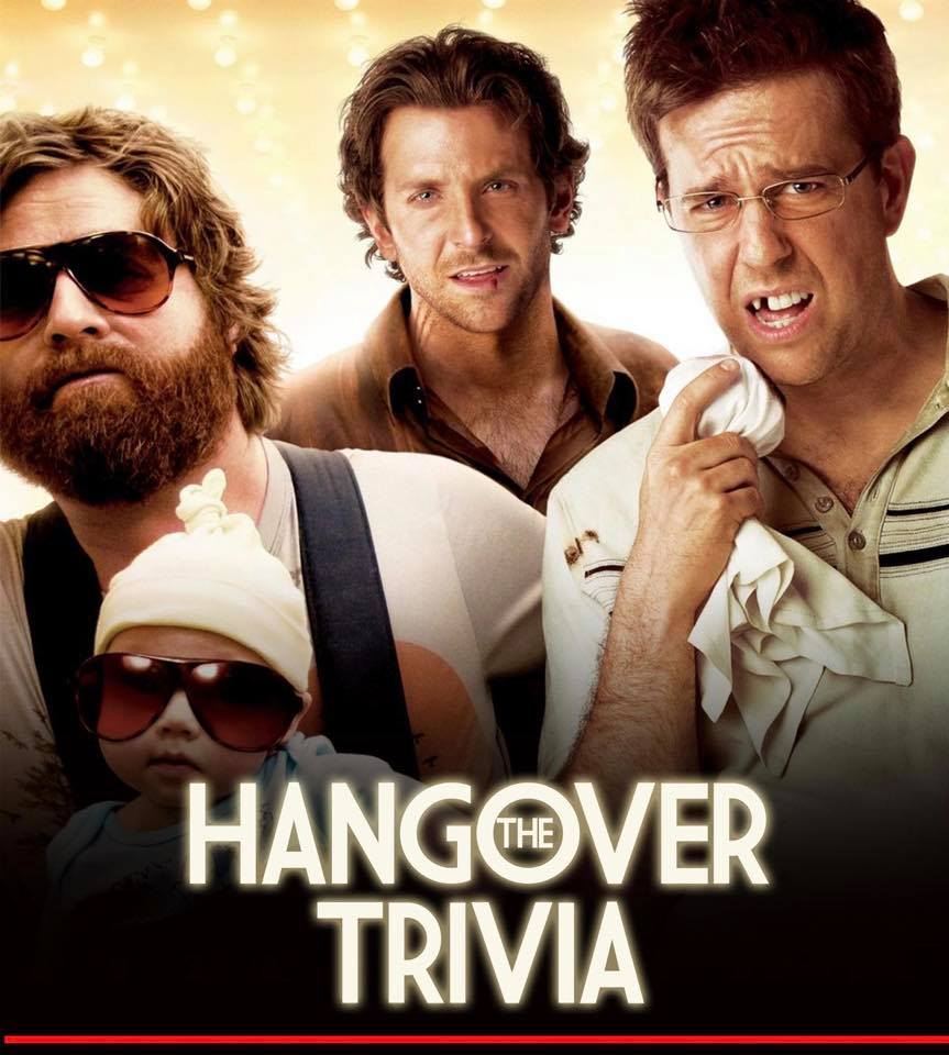 "National ""Hangover"" Day! Trivia - hosted by K Zone"