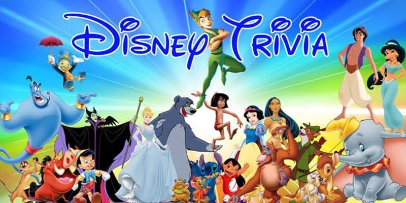 Disney Trivia - Hosted by KZone