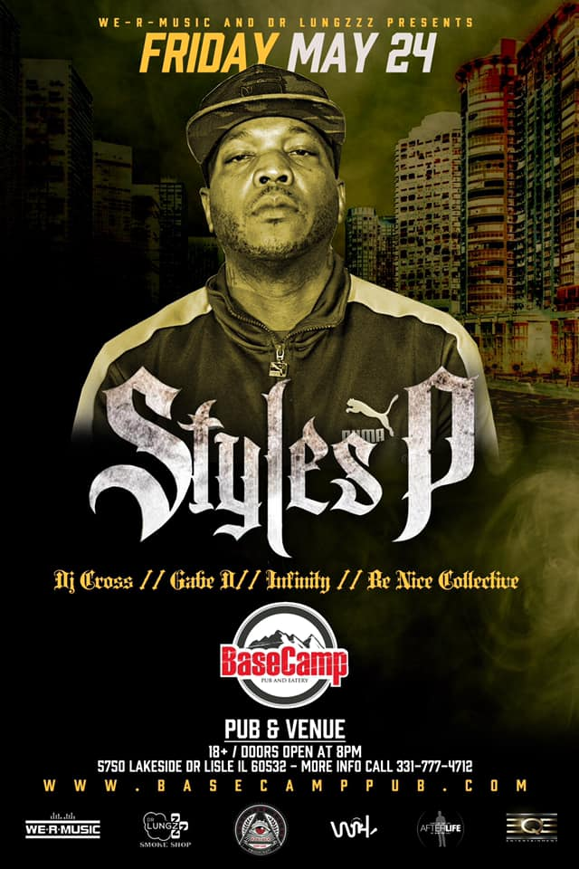 Styles p live at basecamp