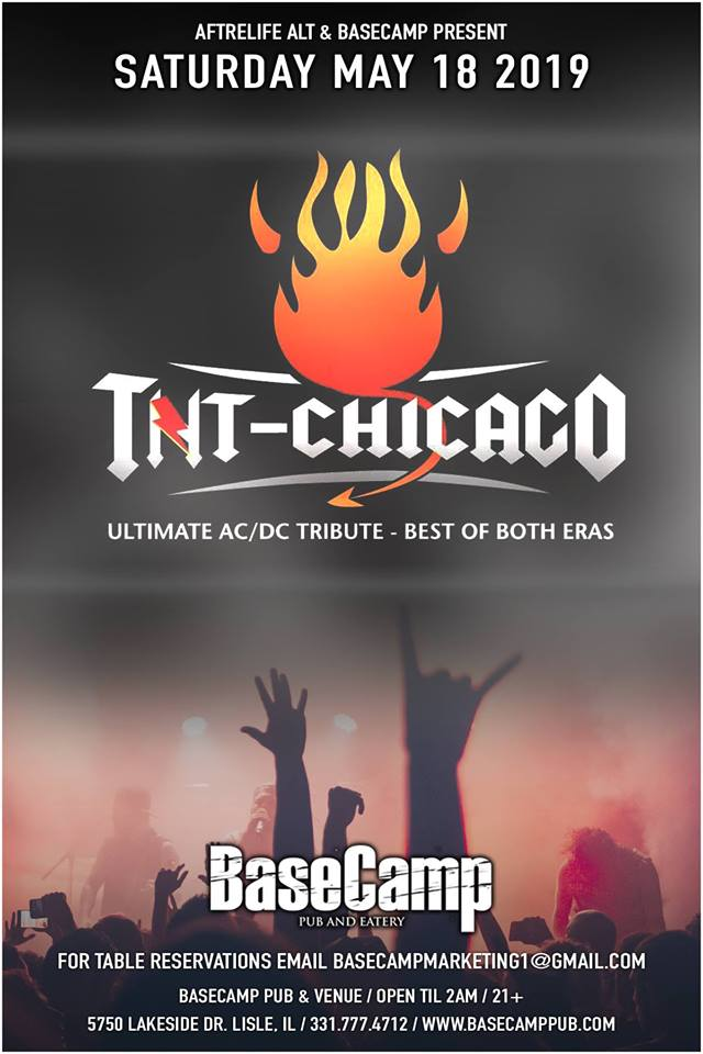 TNT The Ultimate ACDC Tribute Show at Basecamp