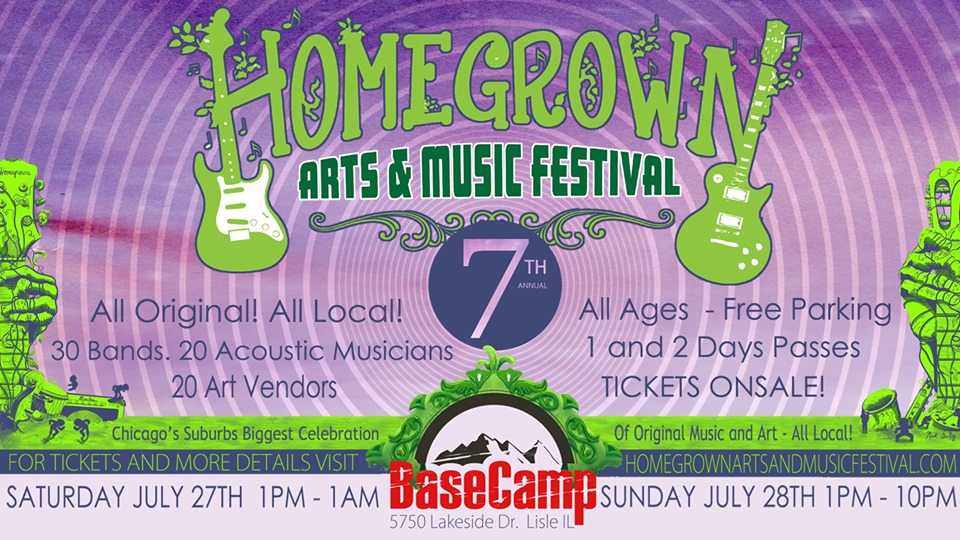 7th Annual Homegrown Arts and Music Festival 2019