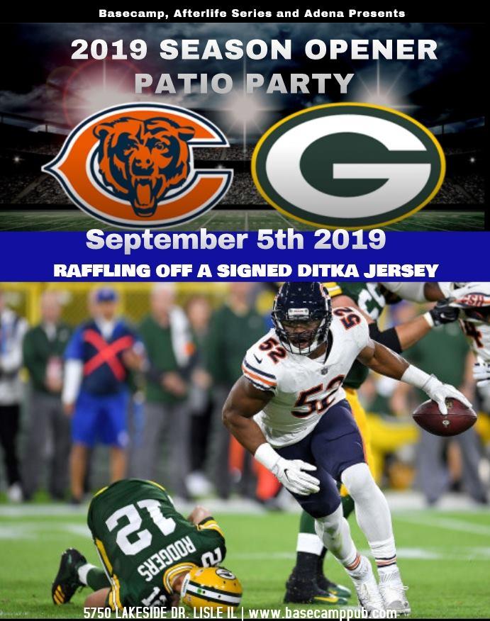 Bears VS Packers Season Opener Patio Party