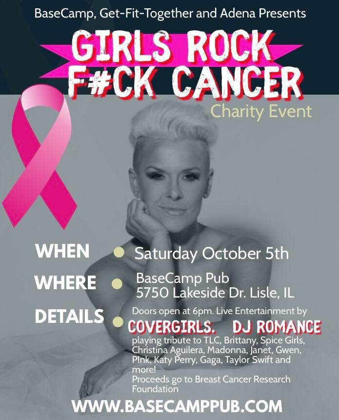 Girls Rock, F#ck Cancer Charity Event