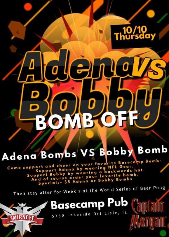 Bomb Off- Bobby VS Adena