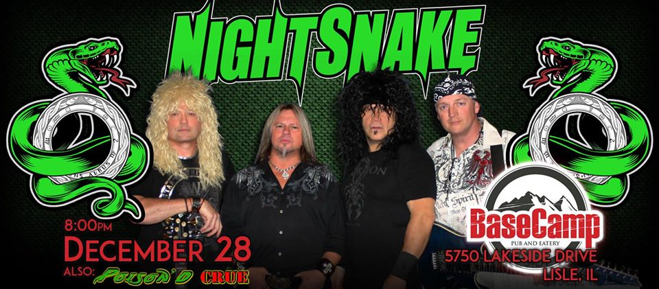 NightSnake live at BaseCamp with Poison'd Crue!